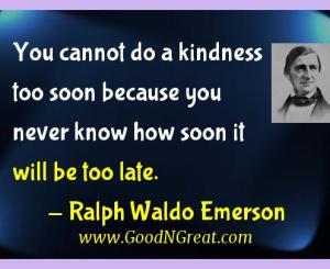 Ralph Waldo Emerson Gratitude Quotes