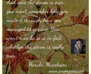 Haruki Murakami GoodNGreat Quotes