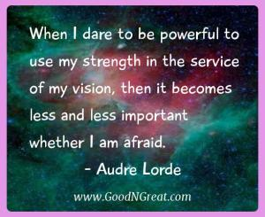 Audre Lorde Success Quotes