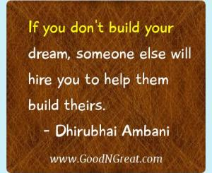 Dhirubhai Ambani Success Quotes
