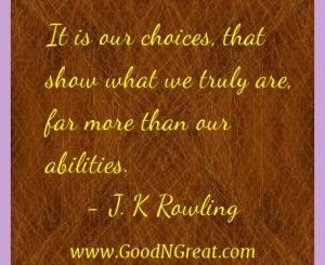 J. K Rowling Success Quotes