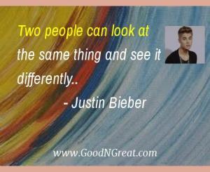 Justin Bieber Quotes