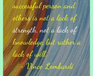 Vince Lombardi Success Quotes