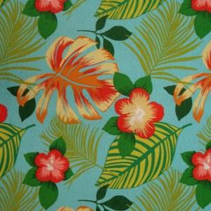 Hanko Blue Futon Cover