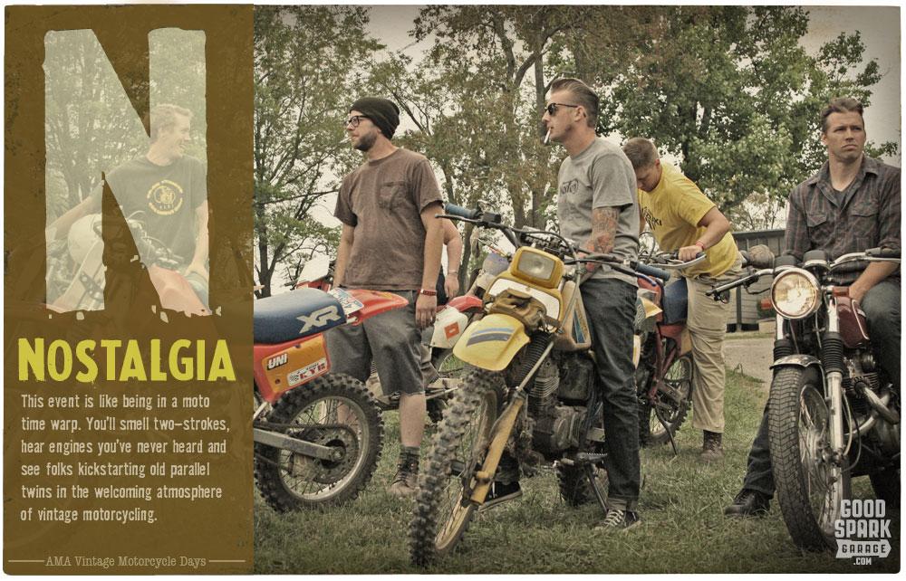 AMA Vintage Motorcycle Days N