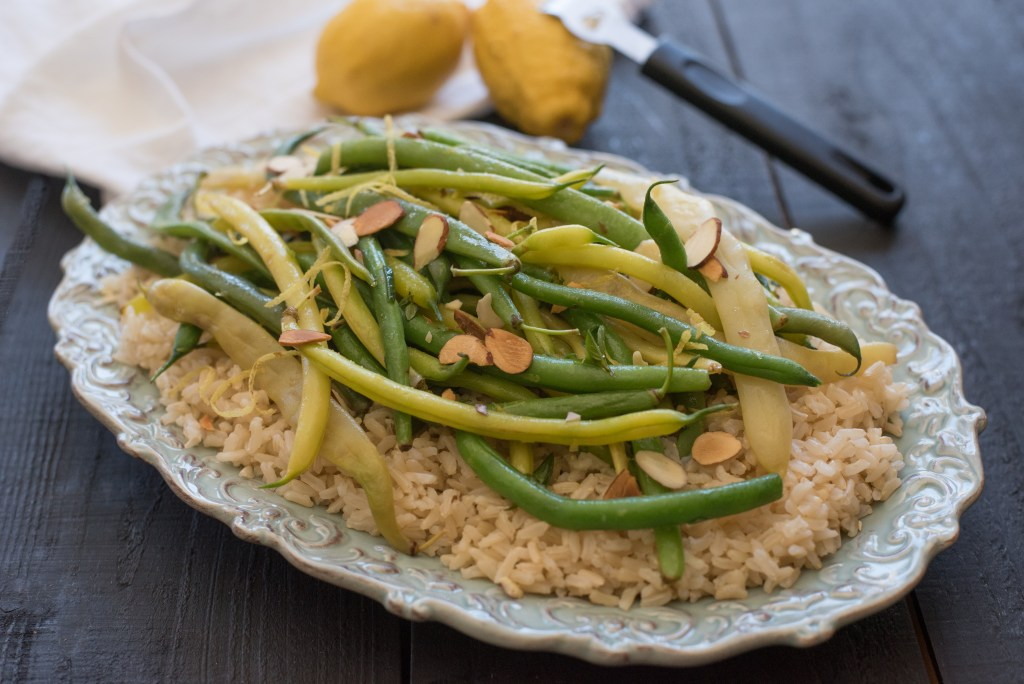 Mulit-Colored String Bean Side Dish