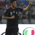 Vela on the scoresheet while Cesc hits bar for Spain