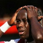 Sagna ruled out of action for 'three weeks'
