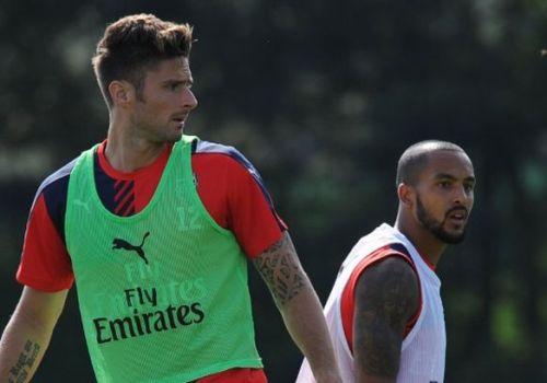 Arsenal-Training-Session