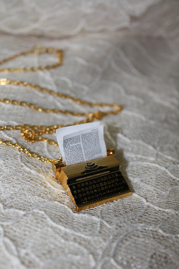 Typewriter Necklace (2/2)