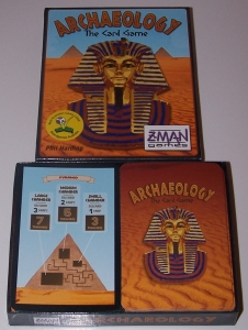 Archaeology The Card Game box