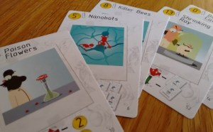 Nefarious card art
