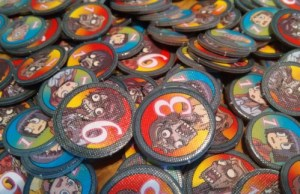 Zombie Tower 3D tokens