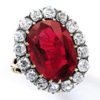 An Incomparable Ruby from Italy's Last Queen