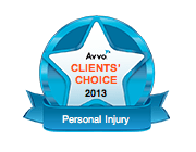 Avvo Clients' Choice 2013, Personal Injury
