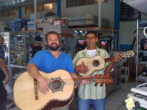 Zacarias and Oscar procure the musical instruments