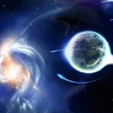 galactic tidal wave