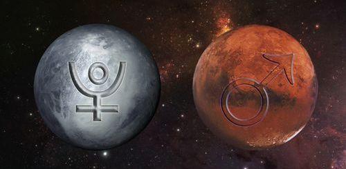October 2016 ... MARS conjucts PLUTO ... AWAKENING THE INNER STRENGTH