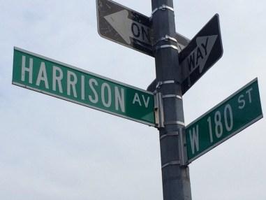 Первый дом, в котором Бурлюки сняли квартиру, находился в Бронксе, на Harrison Avenue