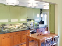 Small Of Green Kitchen Cabinets