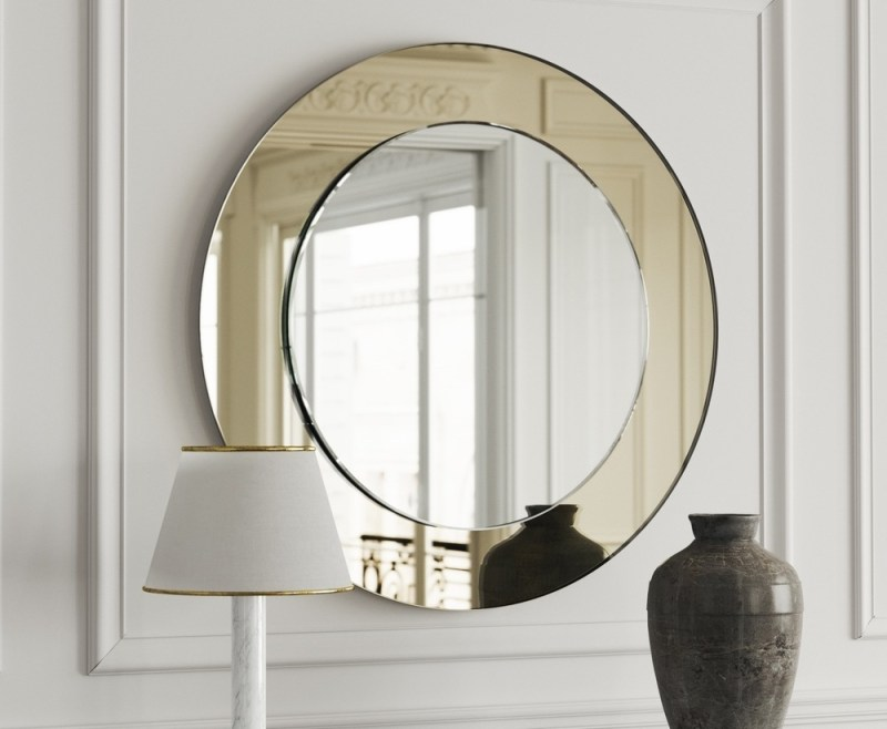 Large Of Art Deco Mirror