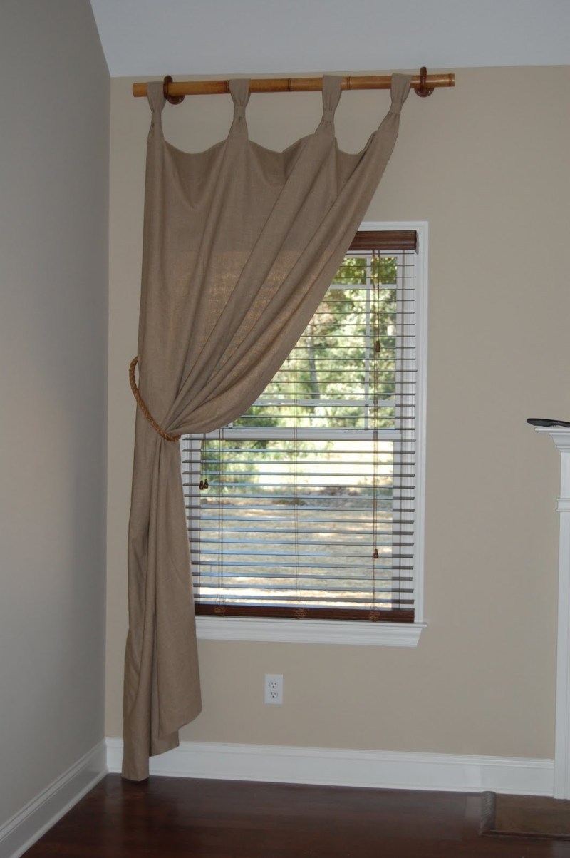 Large Of Short Curtain Rods