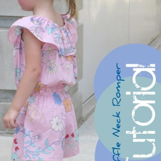 Featured: Ruffled Romper Tutoriral