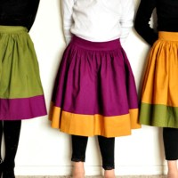 Vintagely Modern Skirt tutorial from Simple Simon & Co.