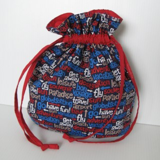Featured: Drawstring Bag Tutorial