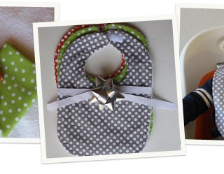 Featured: Easy Baby Bib Tutorial