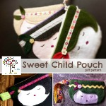 Sweet Child zipper pouch