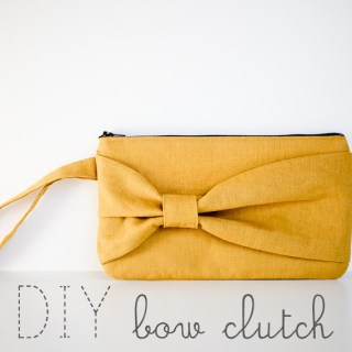 Featured: DIY Bow Clutch Tutorial