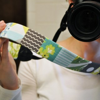 Featured: Camera Strap Tutorial