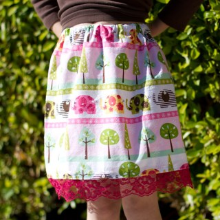 How To: sew a simple skirt