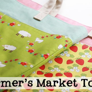 Featured: Farmer's Market Totes