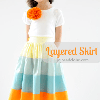 Featured: Layered Skirt Tutorial