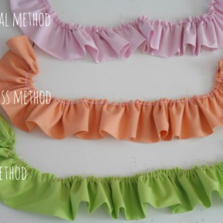 ruffles 3 ways - tutorial