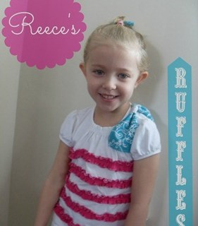 Featured: Ruffled T-Shirt Tutorial