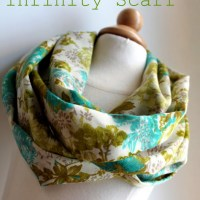 spring inifity scarf