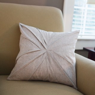 Featured: Pleated Bundt Pillow Tutorial