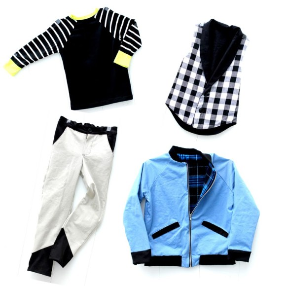 delia creates- awesome boy outfit! #sewing
