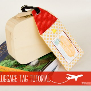 Make Your Own Luggage Tags: A Tutorial