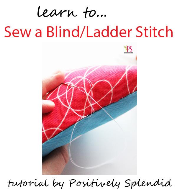 blind ladder stitch