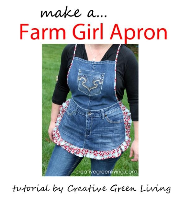 farm girl apron