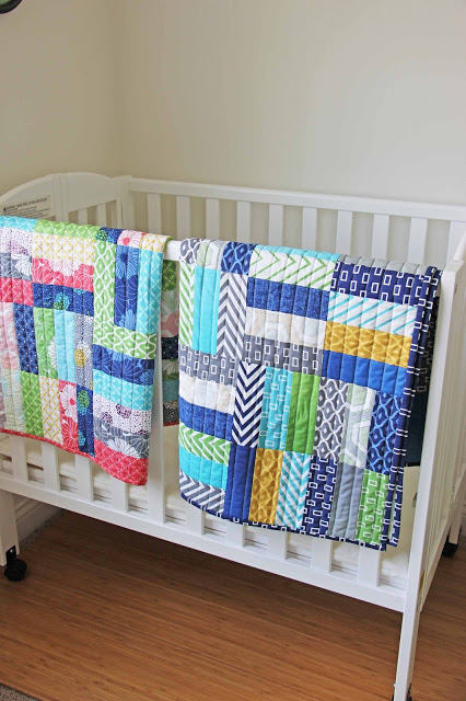 Featured: Jelly Roll Crib Quilt Tutorial - SEWTORIAL : quilt jelly roll - Adamdwight.com