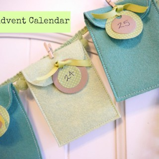 Featured: Felt Advent Calendar Tutorial