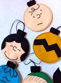 Featured: Charlie Brown Ornament Tutorial