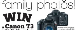 Win a canon camera!! Super easy entry!