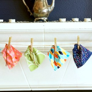 Featured: Mini Drawstring Bags Tutorial