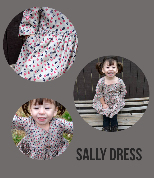 the Sally Dress sewing pattern - cute!